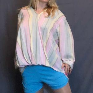 JNY long sleeve blouse 3x